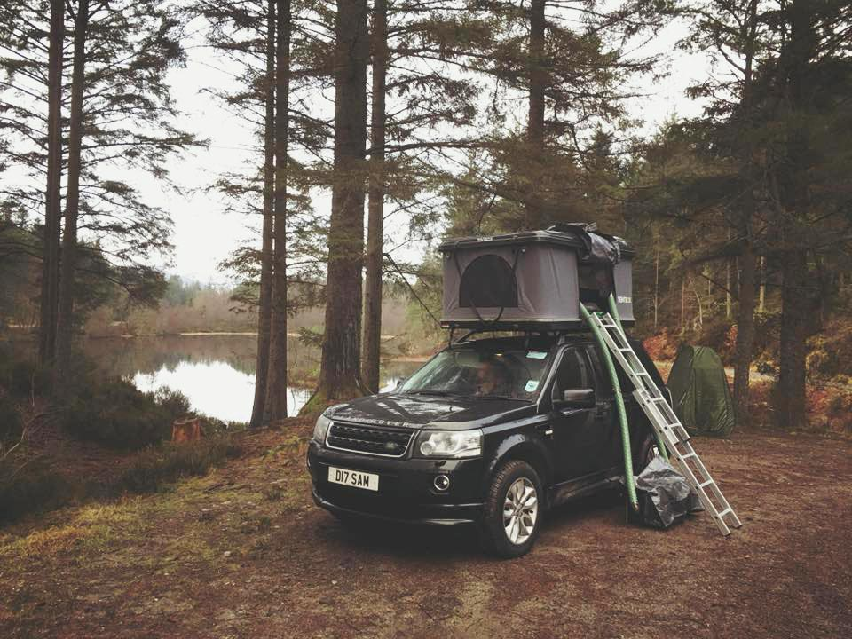 discovery 2 camping roof tent